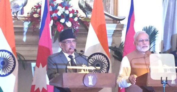 नेपाल भारतका प्रधानमन्त्रीको संयुक्त पत्रकार सम्मेलन : सवैको भावना समेट्दै संविधान कार्यान्वयन गर्न मोदीको सुझाव