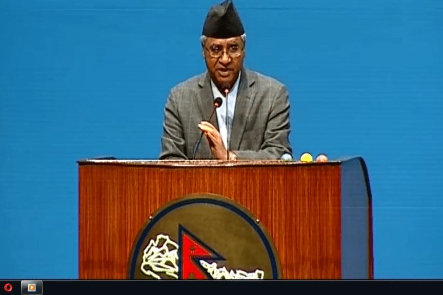 'सरकारको नीति तथा कार्यक्रम 'छ्यासमिसे र हावादारी'  : सभापति देउवा