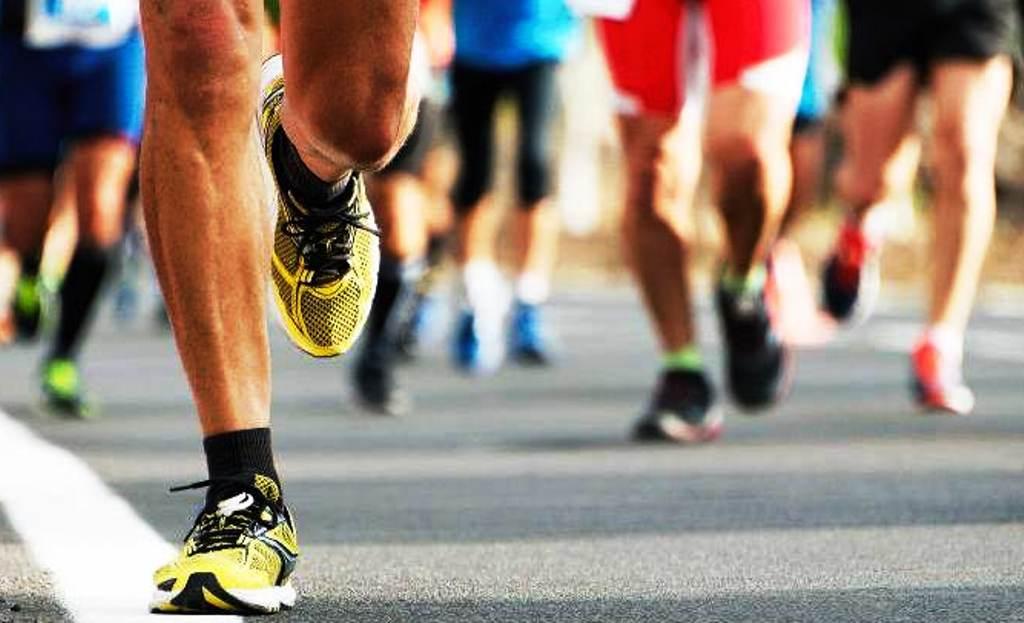 म्याराथन दौड प्रतियोगिता फागुनमा
