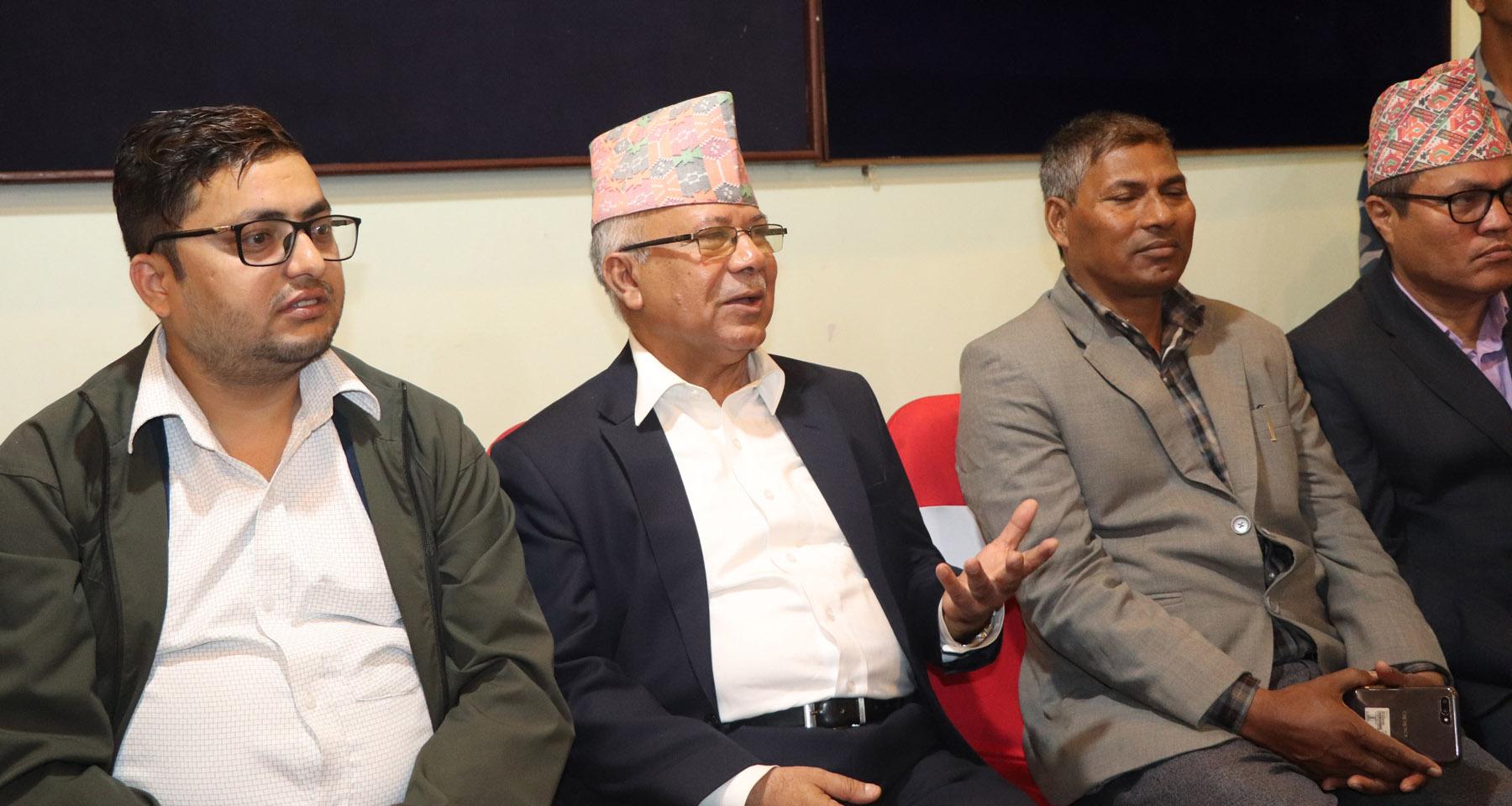 सरकारले वार्ताको ढोका बन्द गरेको छैन : नेपाल