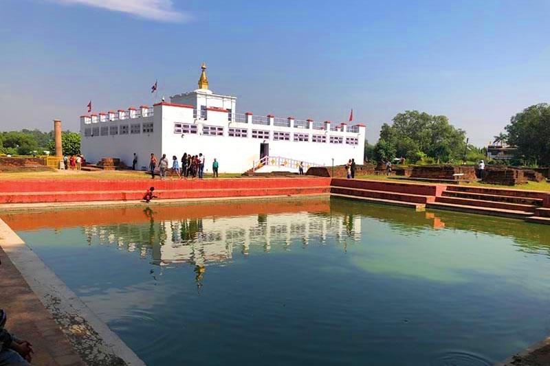 कोरोना प्रभाव : बुद्धजयन्तीमा सुनसान हुँदै लुम्बिनी