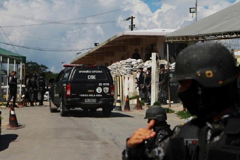 ब्राजिलको कारागारमा झडप, १५ जनाको मृत्यु