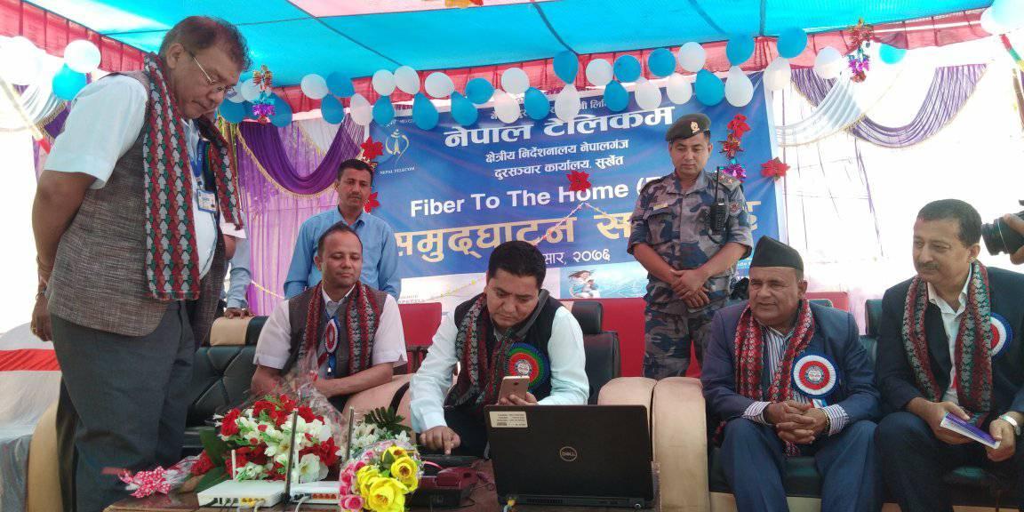 कर्णालीमा नेपाल टेलिकमको एफटीटीएच सेवा