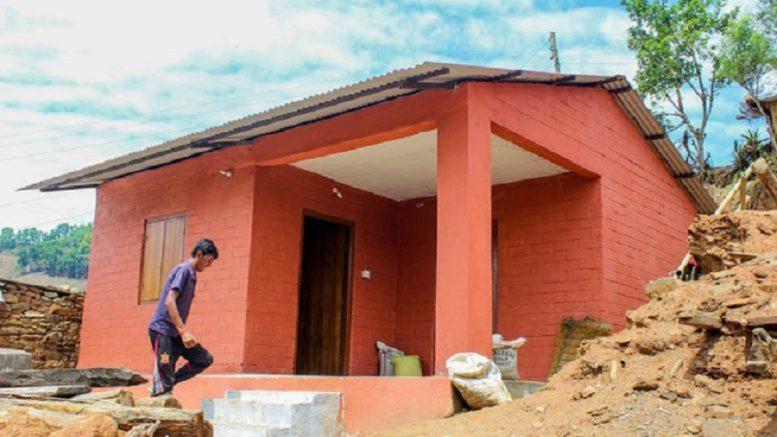भूकम्पबाट क्षति भएका तेह्र हजार घर निर्माण