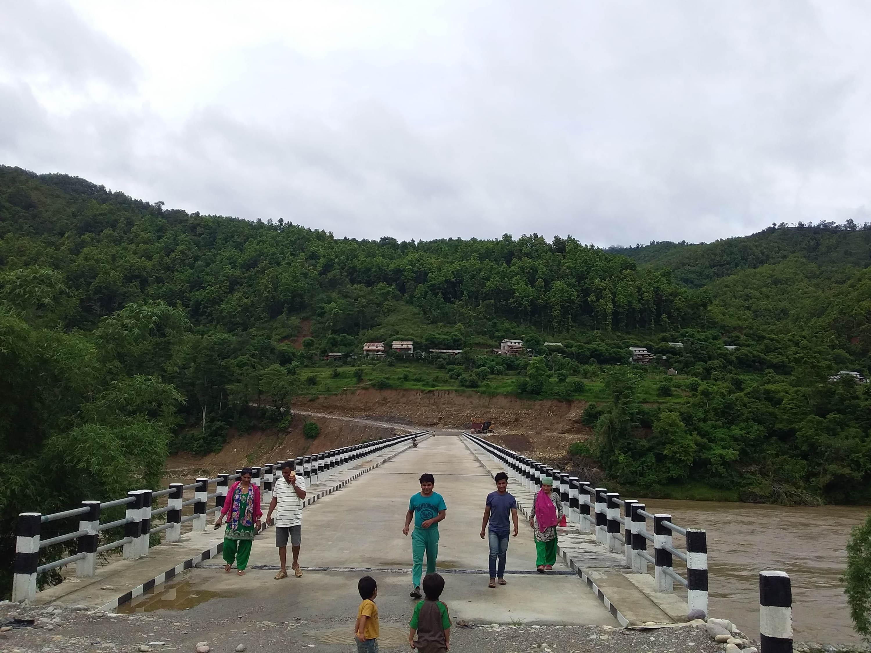 कालीगण्डकीमा पक्की पुल निर्माण