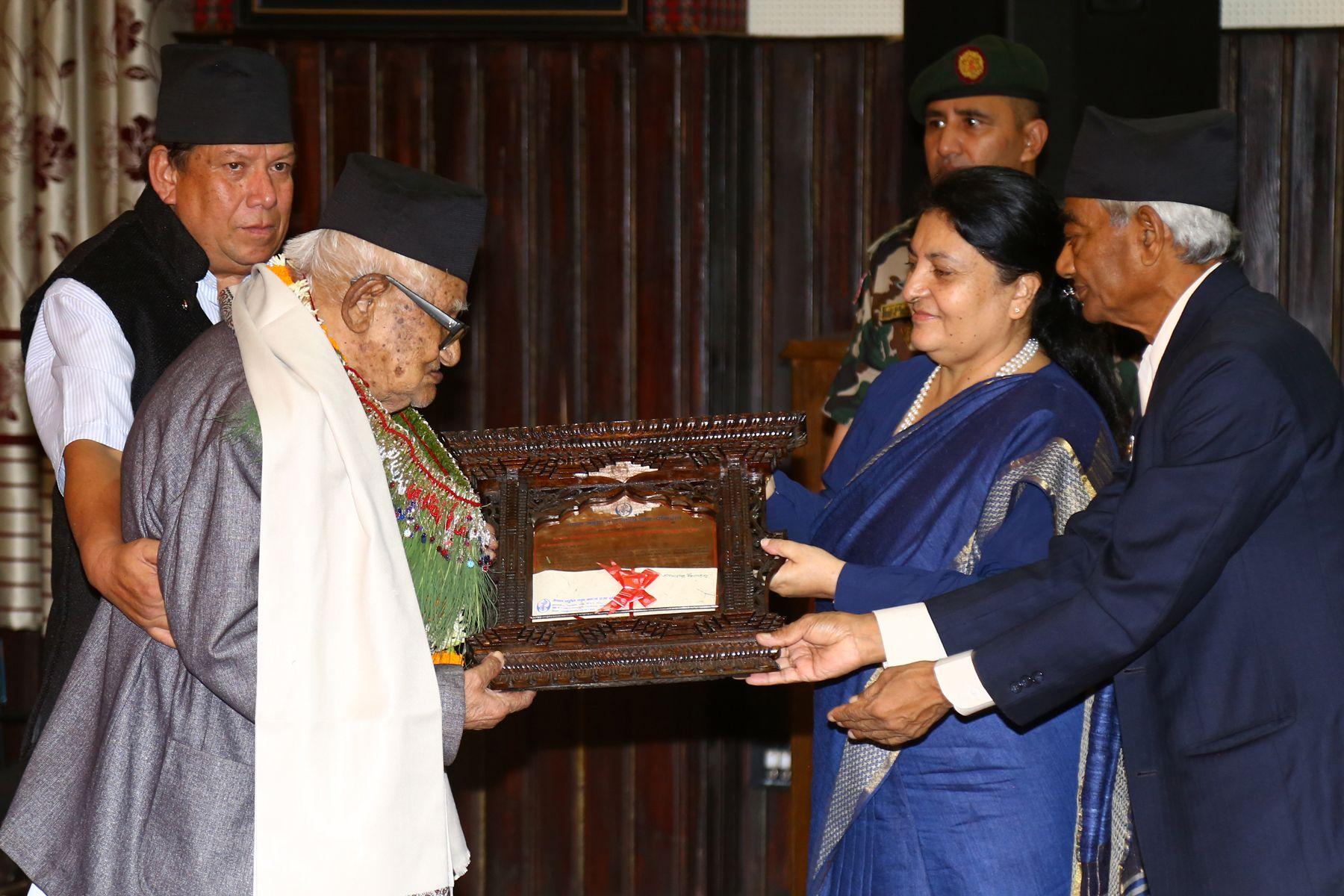नेपाललाई चिनाउने साहित्य, सङ्गीत र कला होः राष्ट्रपति