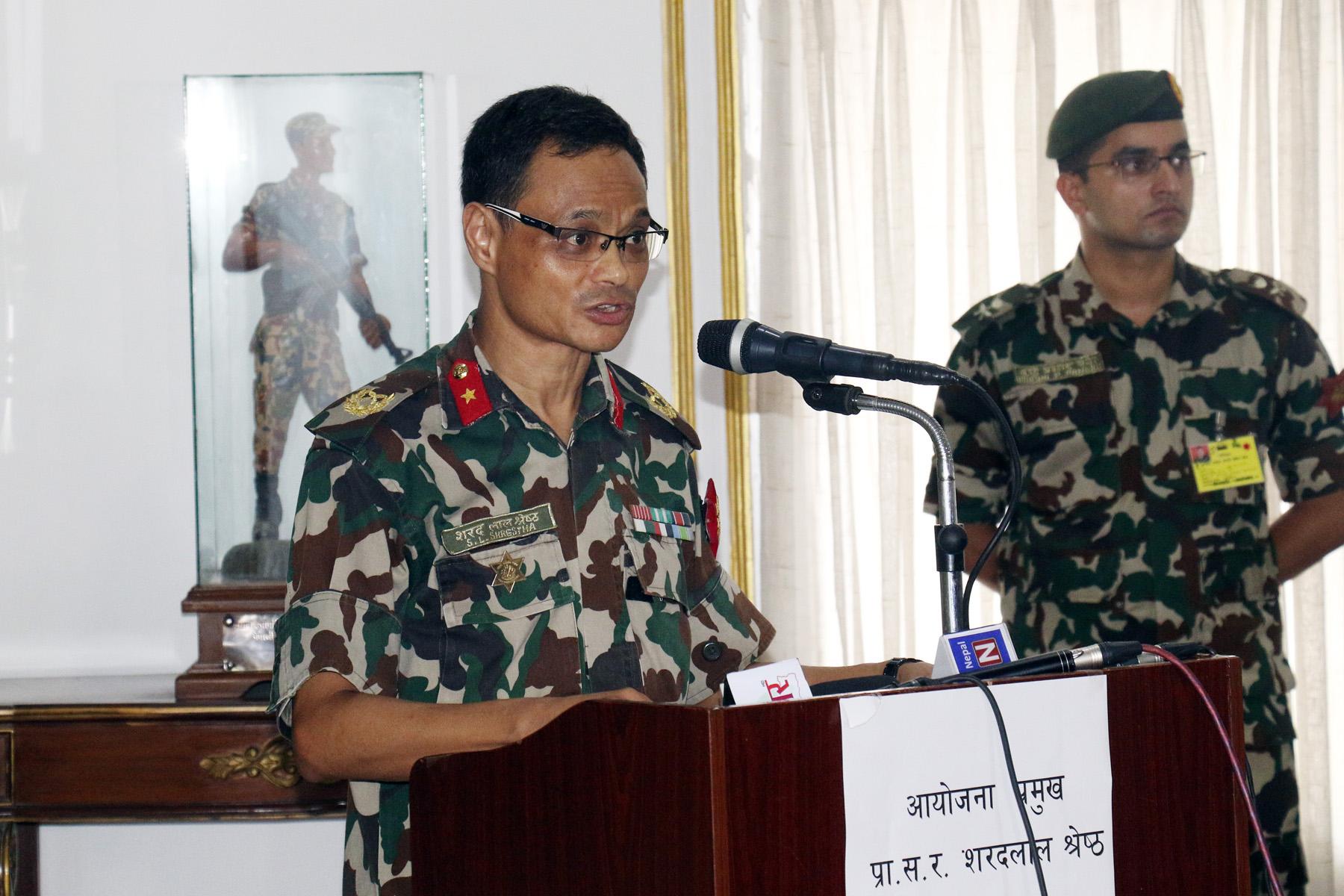 अब आयोजना अघि बढाउन कुनै बाधा अड्चन छैन– नेपाली सेना