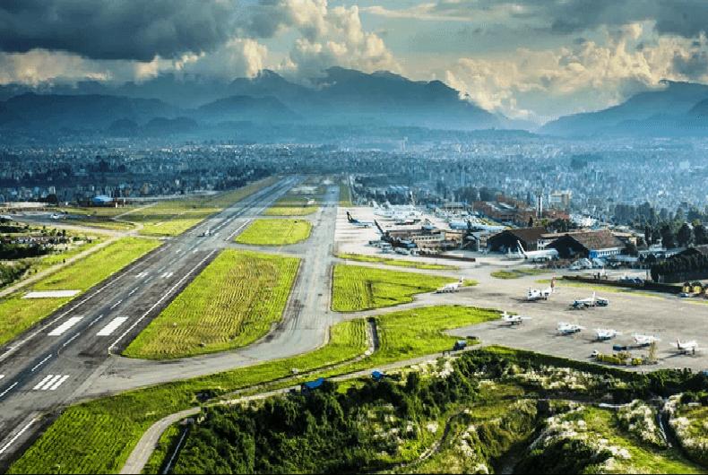अन्तर्राष्ट्रिय विमानस्थलको धावनमार्ग विस्तार