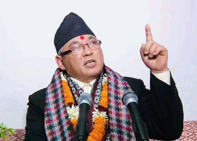 समृद्ध नेपाल निर्माणका लागि भरपर्दो सुरक्षा आवश्यक : मन्त्री थापा