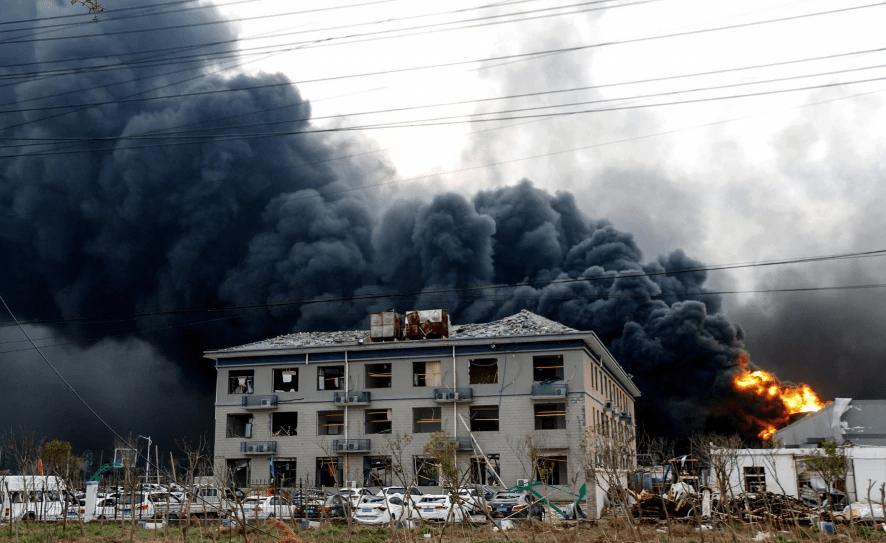 चीनमा रासायनिक कारखाना विस्फोट चारको मृत्यु