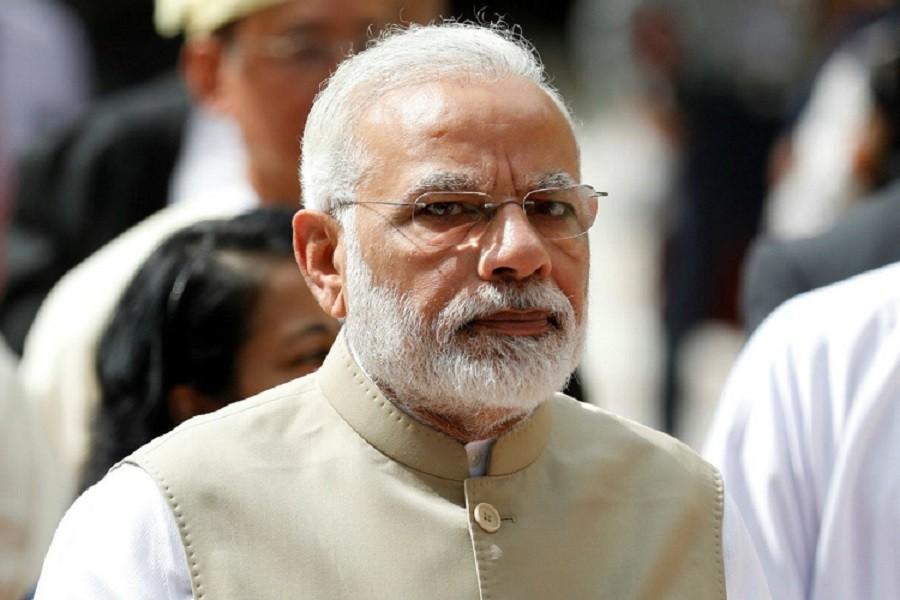 भारतीय प्रधानमन्त्री मोदी थाइल्याण्ड भ्रमणमा