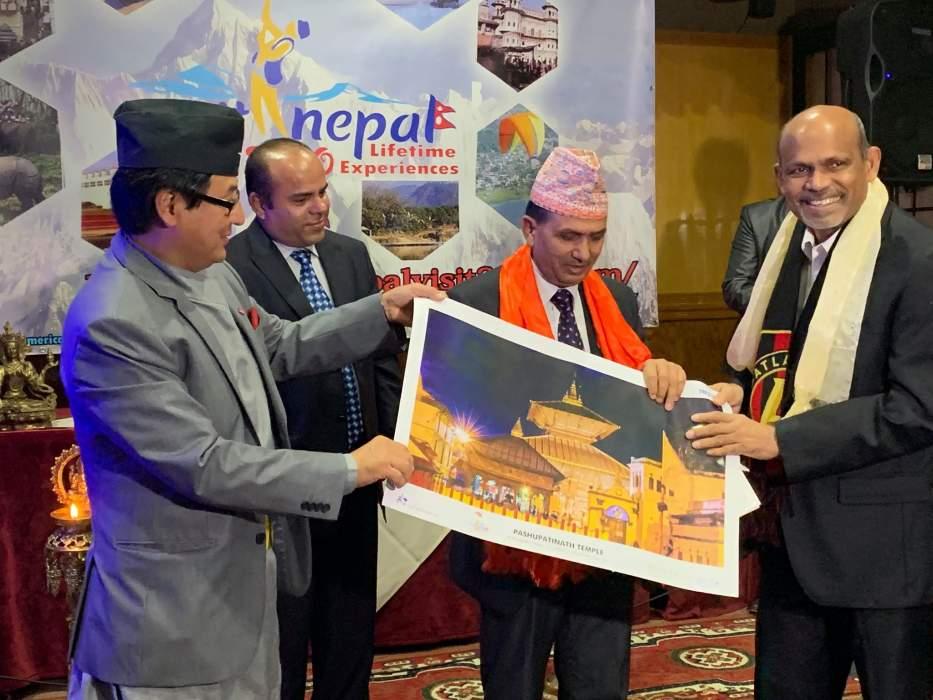 अमेरिकामा नेपाल भ्रमण २०२० शुभारम्भ