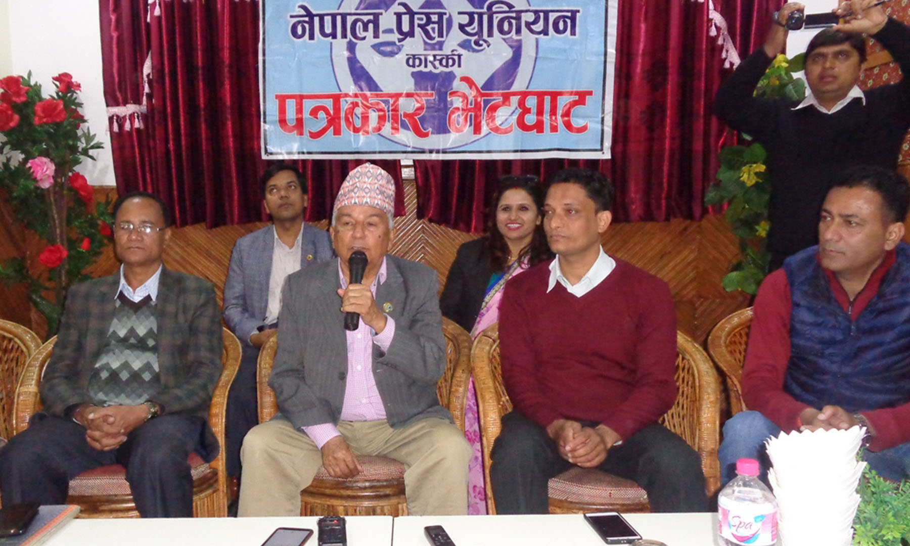 चुनावलाई प्रभावित पारिनु हुन्न : वरिष्ठ  नेता पौडेल