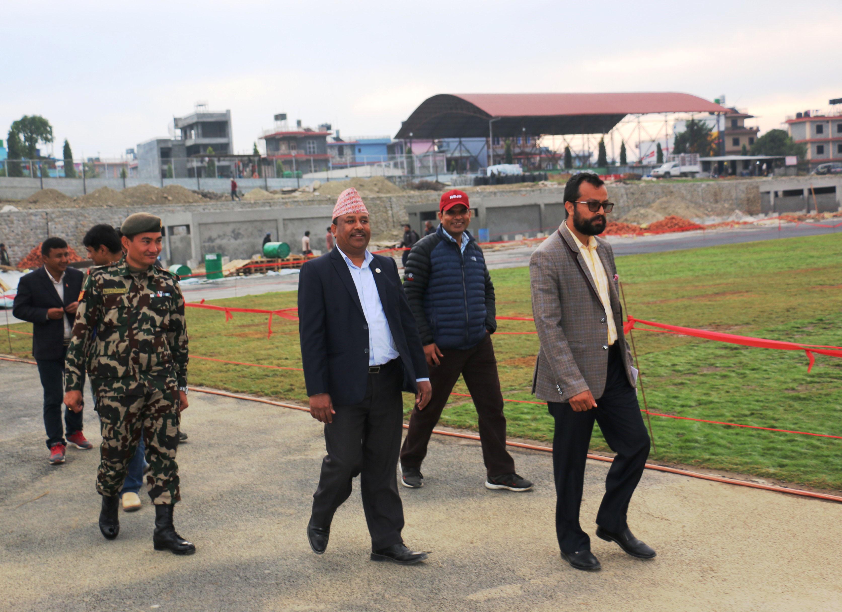 साग खेलकूद सफल पार्न सरकार कटिबद्ध छ : मन्त्री विश्वकर्मा
