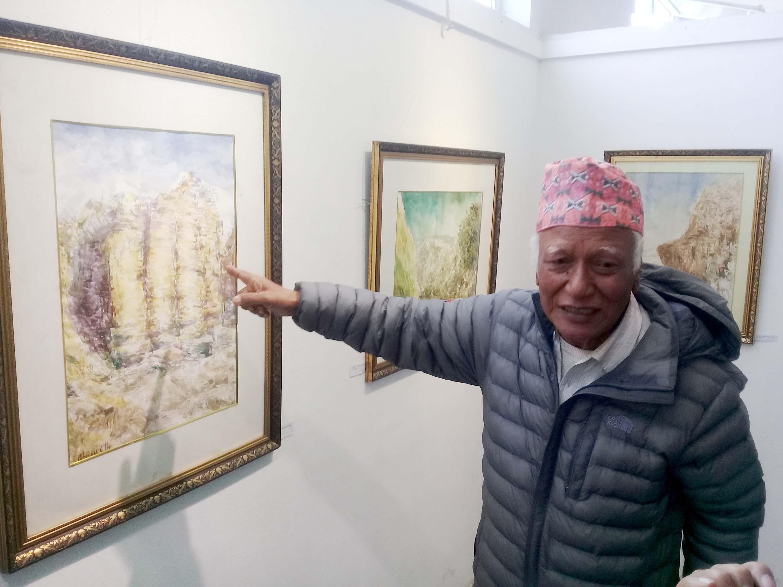 नयाँ पुस्तामा साधना छैन : कलाकार क्षेत्रलाल