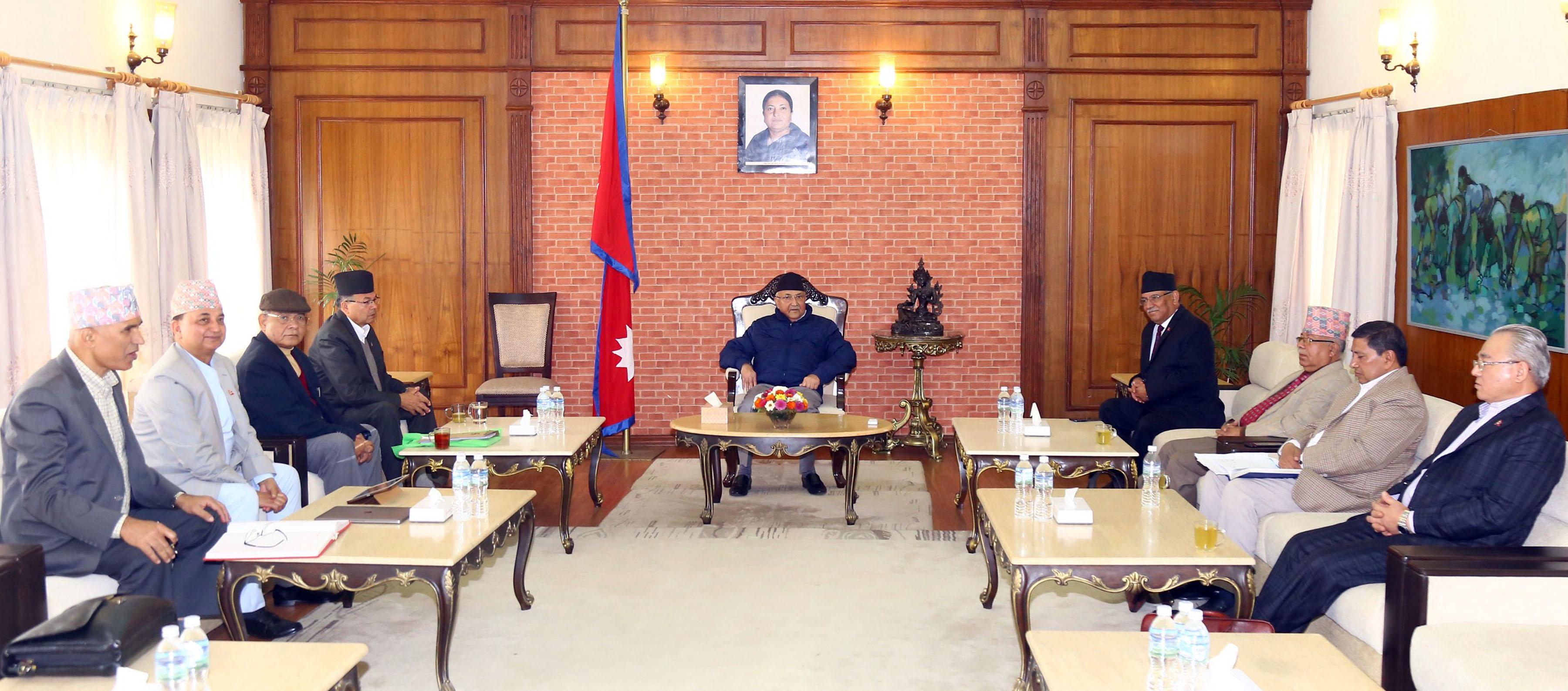 नेकपा सचिवालय बैठक शुरु