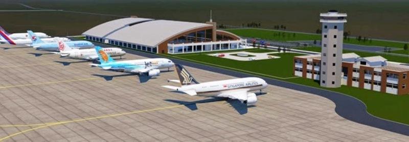 गौतमबुद्ध अन्तर्राष्ट्रिय विमानस्थलको ८४ प्रतिशत काम पुरा