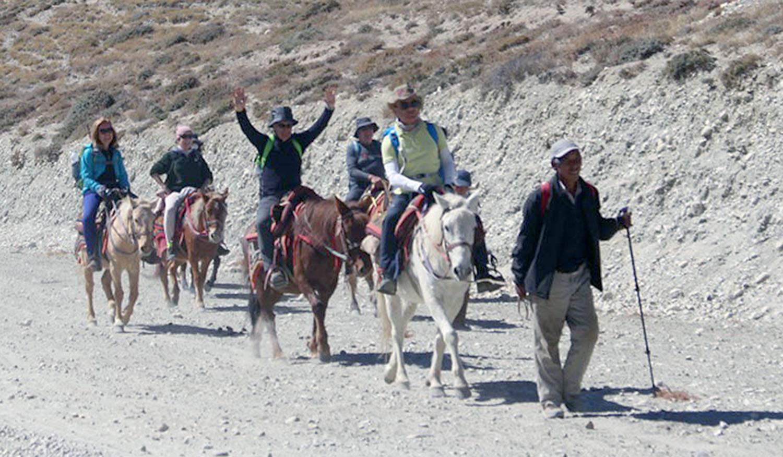 चार हजार पर्यटक उपल्लो मुस्ताङ पुगे