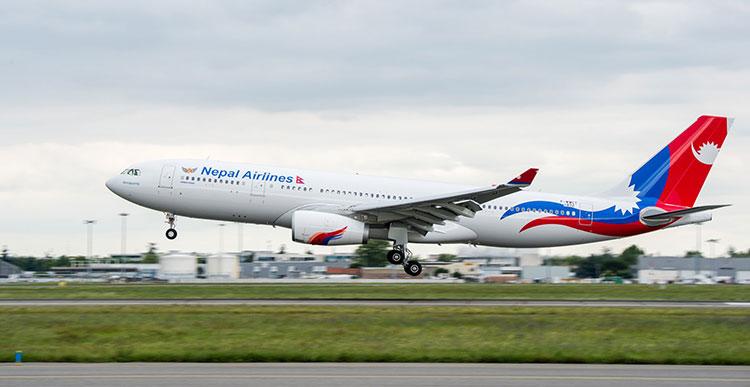क्यानबेरा उड्दै नेपाल एयरलाइन्स