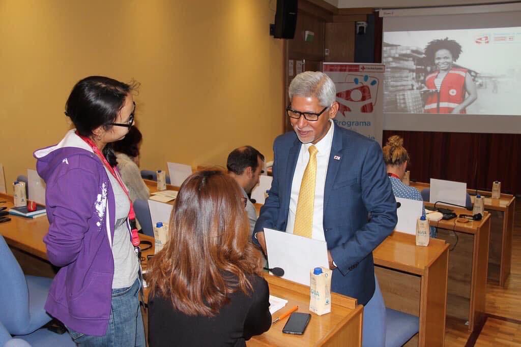 आइएफआरसीको 'महासचिव' सम्हाल्ने चापागाईं पहिलो नेपाली