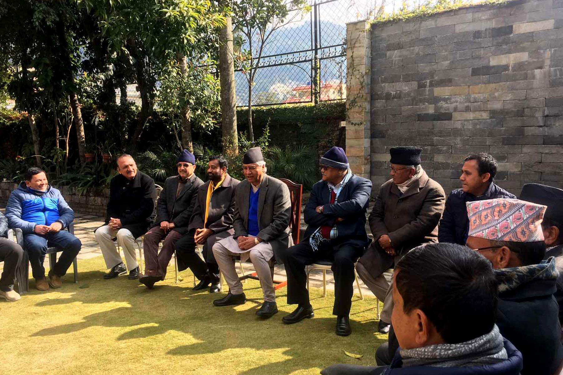 पार्टीमा एकता राख्न सहमतिको विकल्प छैन : सभापति देउवा