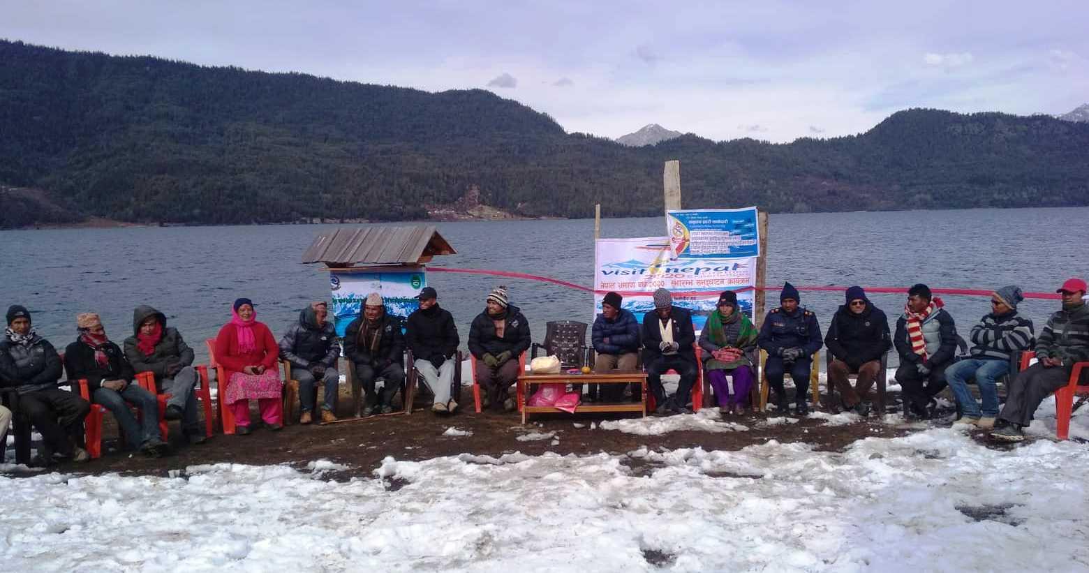 राराको किनारमा भ्रमण वर्ष २०२० शुभारम्भ