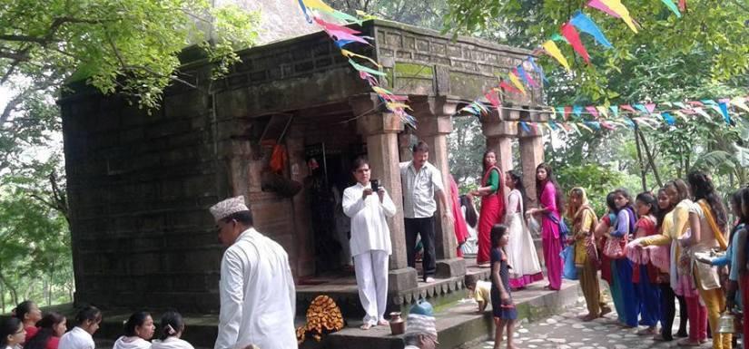 स्मार्ट शिव मन्दिर निर्माणकाे काम शुरु