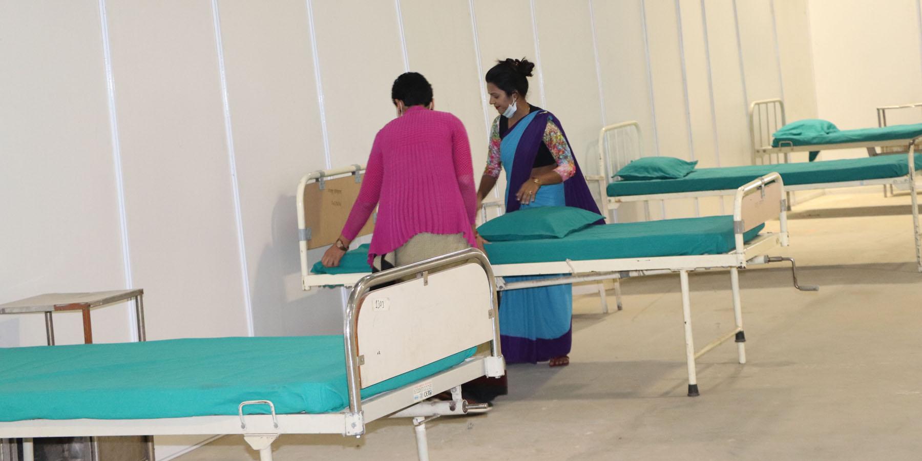 ७२ घण्टामा तयार भो भरतपुरमा कोरोना विशेष अस्पताल