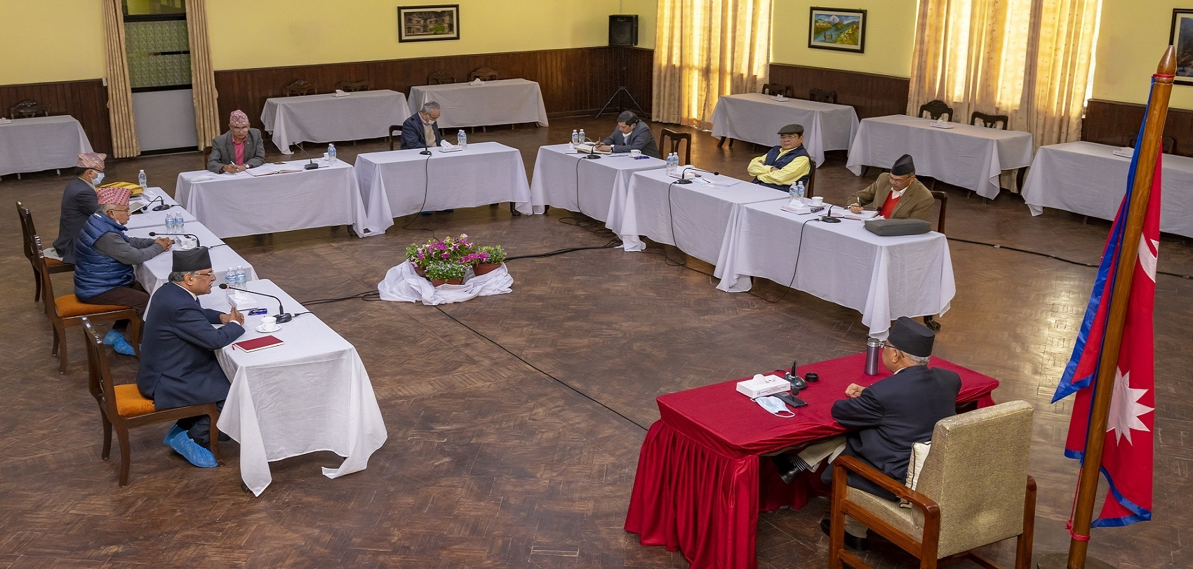 नेकपाको सचिवालय बैठक शुरु