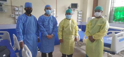 कोरोनाको सफल उपचारले ल्याएको खुशीको सीमा छैन : डा पोखरेल