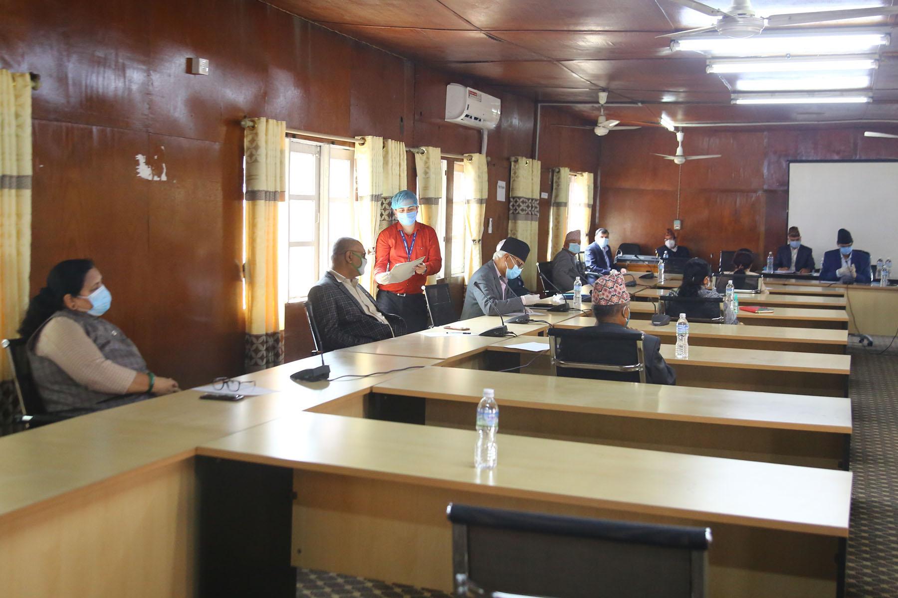 निर्वाचन क्षेत्रको रकम कोरोना रोकथाम कोषमा उपलब्ध गराउन सुझाव