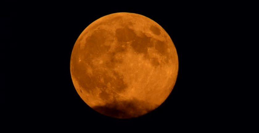 चन्द्रमाको फरक रङ : खगोल शास्त्रका लागि दुर्लभ
