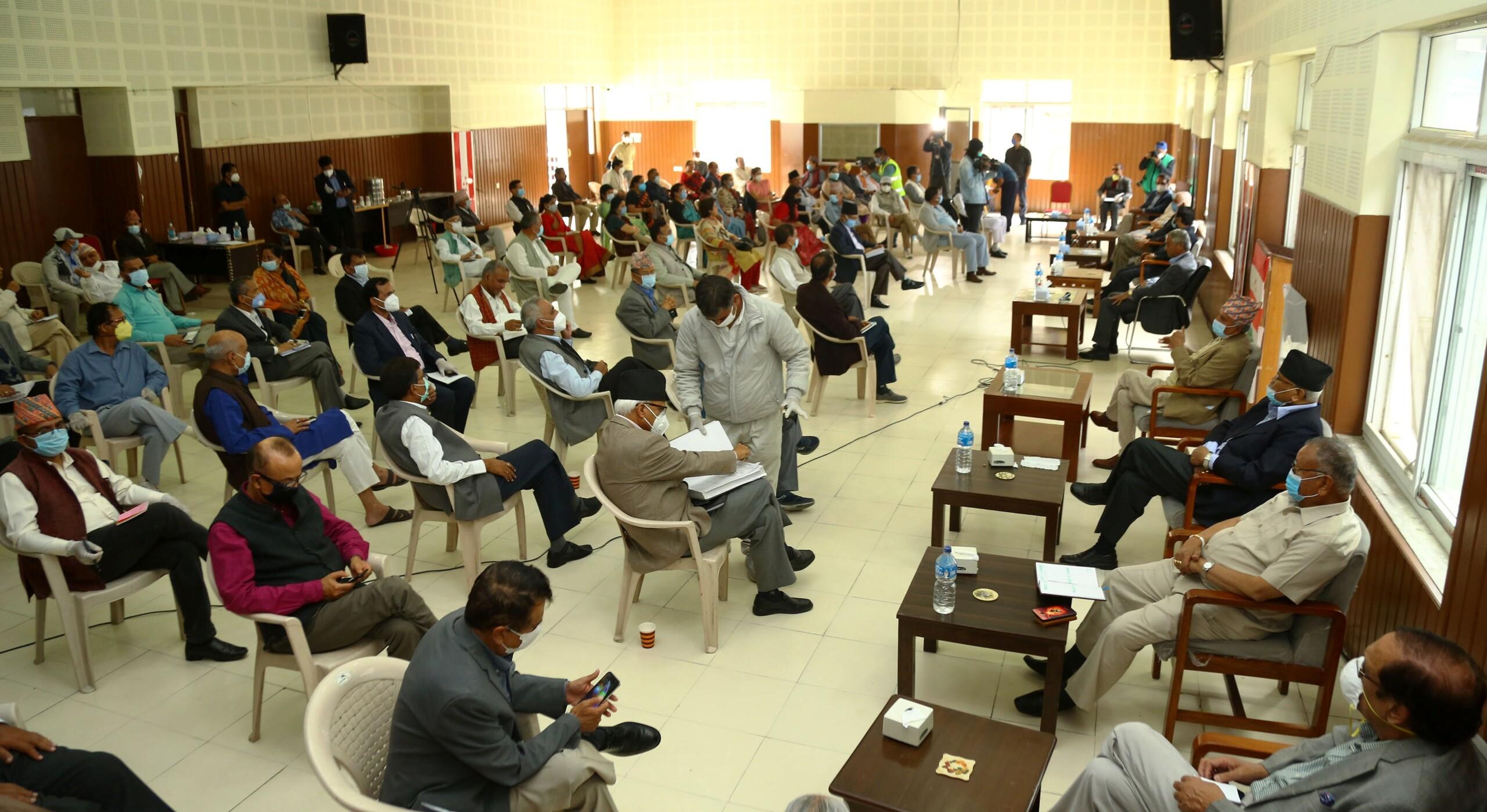 काँग्रेसद्वारा संविधान संशोधनका पक्षमा मतदान गर्न निर्देशन