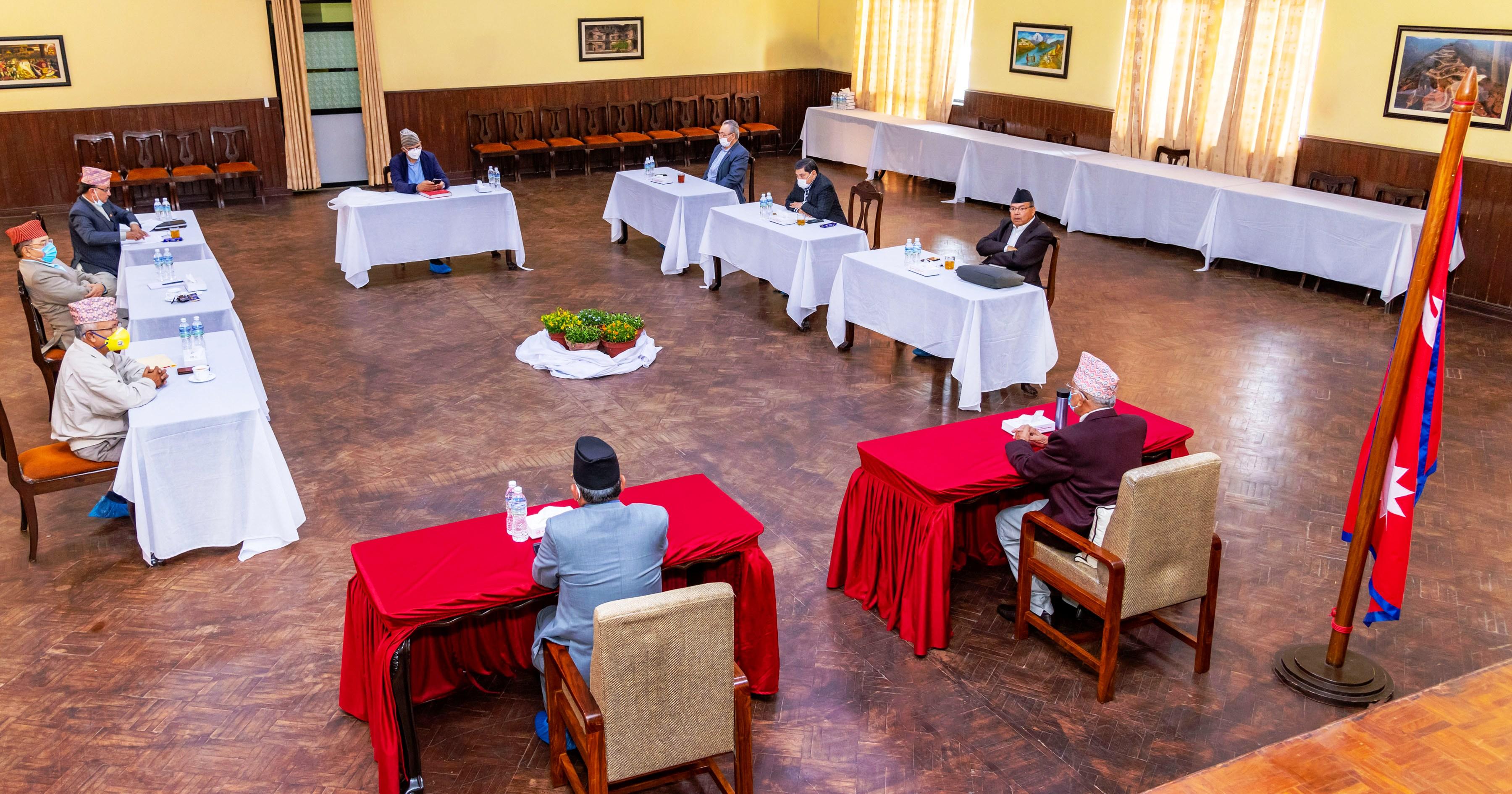 नेकपा सचिवालय बैठक : नीति तथा कार्यक्रममा केन्द्रित