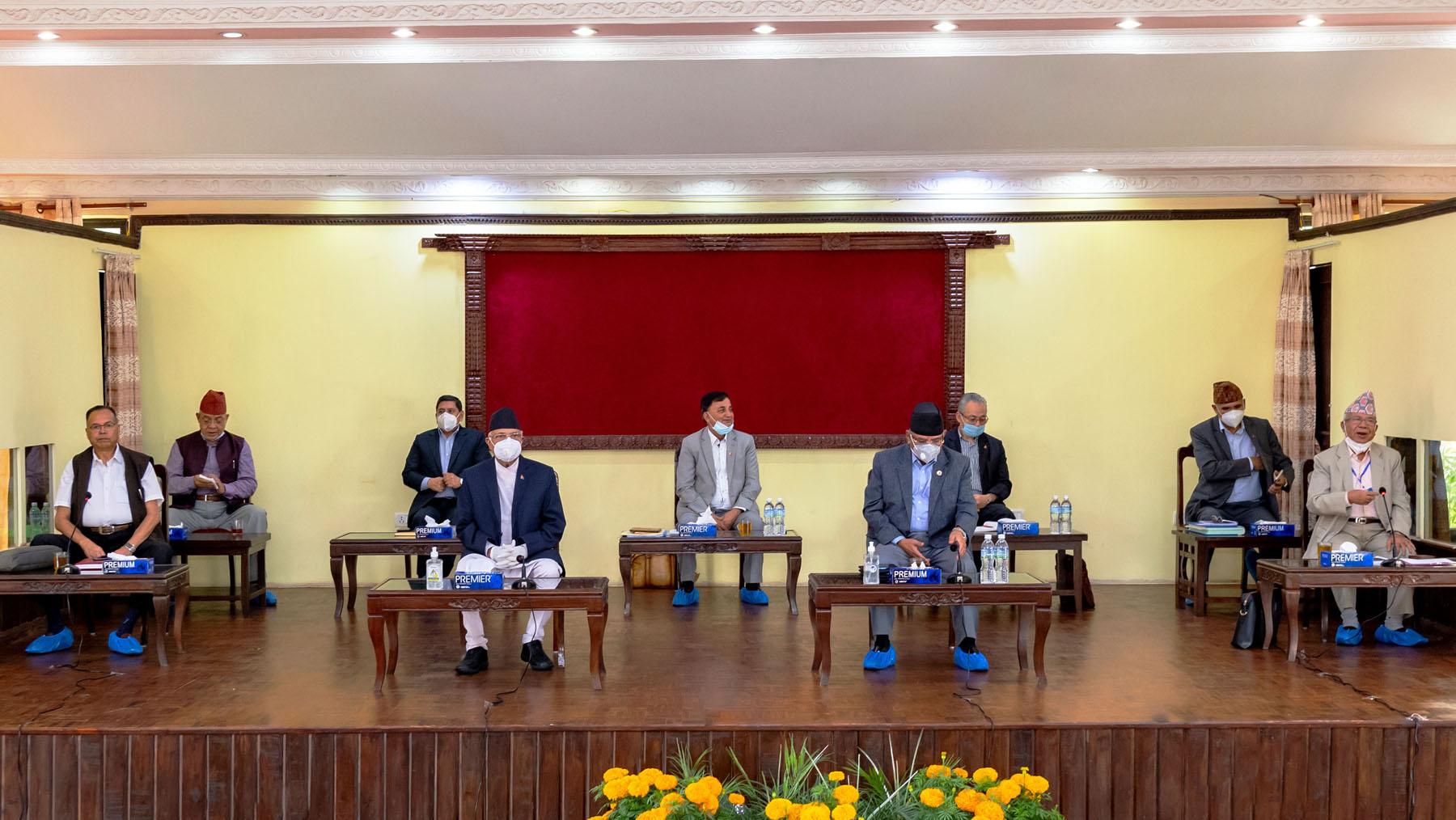 नेकपा स्थायी कमिटी बैठक : राष्ट्रिय एकतामा जोड