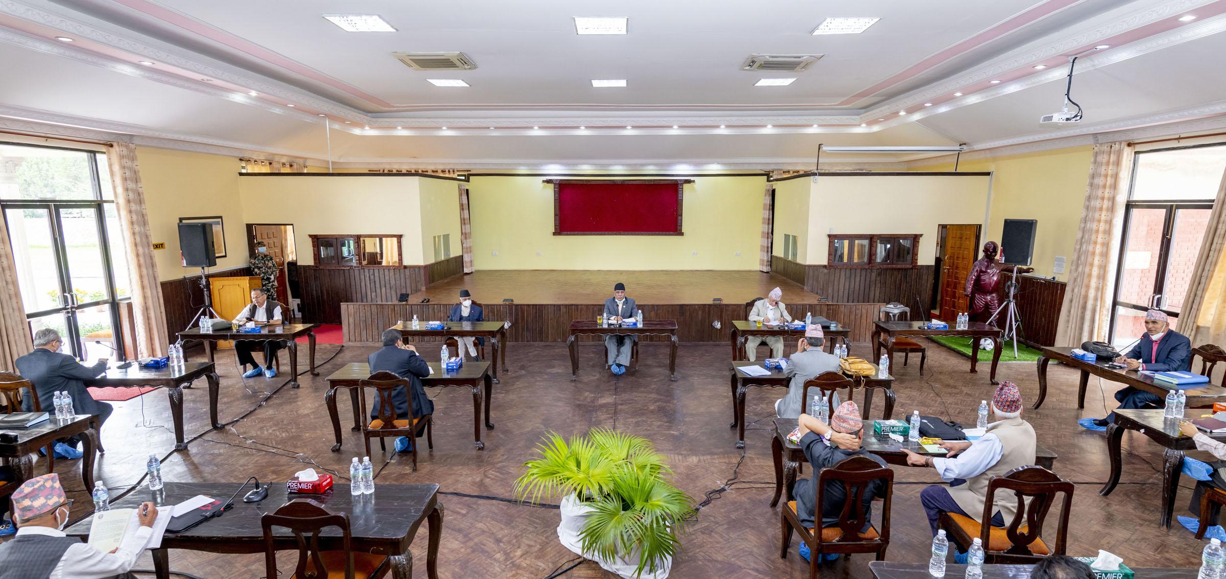 नेकपा स्थायी कमिटी बैठक प्रभावित