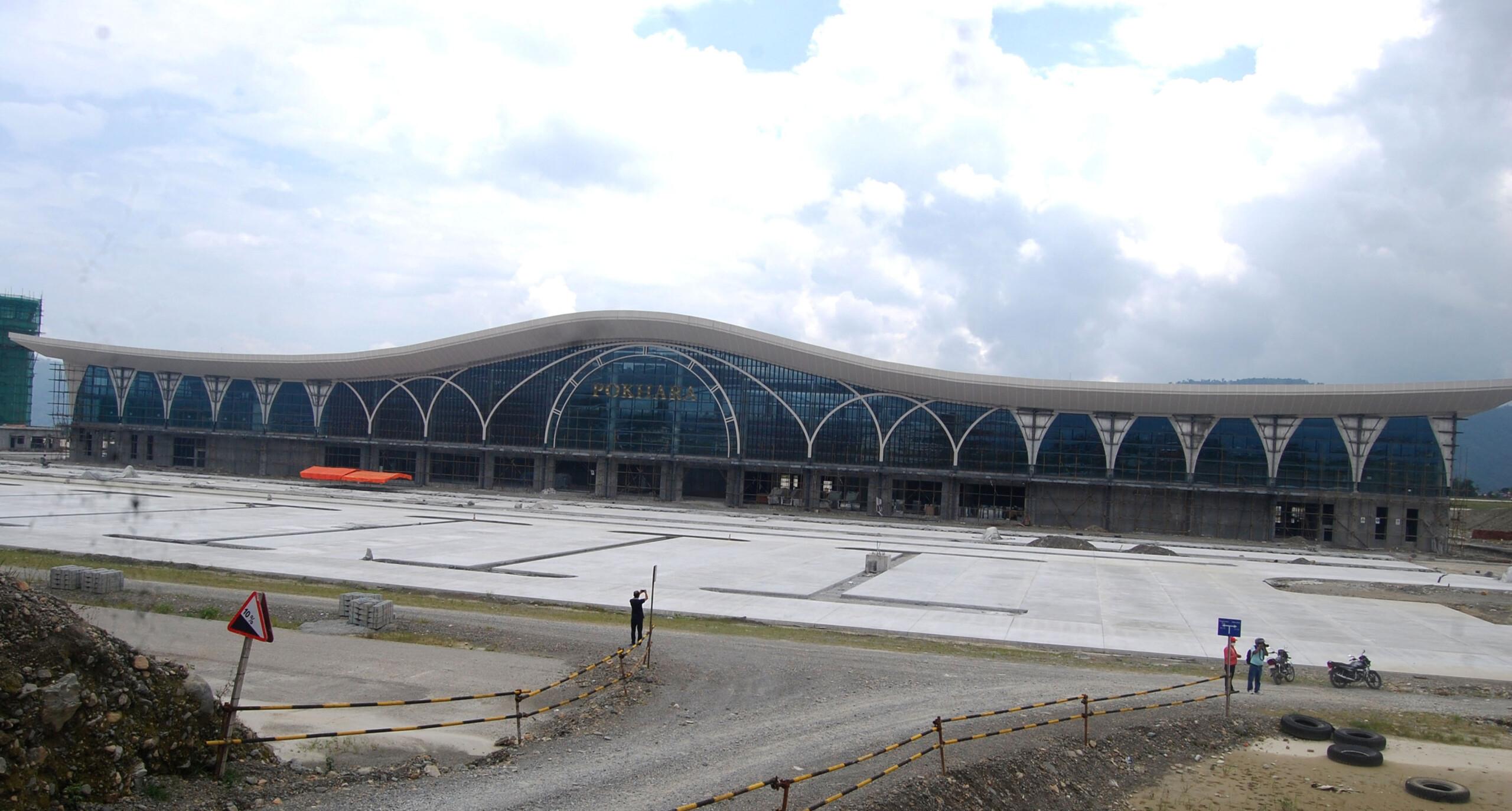 पोखरा अन्तर्राष्ट्रिय विमानस्थल : 'डेडलाइन मिट' गर्न मुश्किल