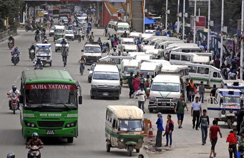 'भदौ १५ सम्म सार्वजनिक यातायात रोकौँ'