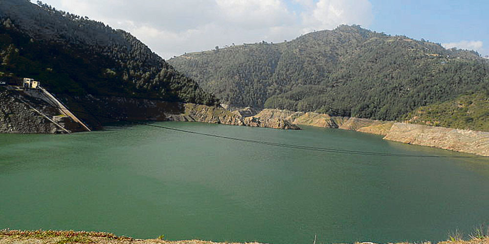 कुलेखानी जलाशयमा पानीको सतह दुई मिटर वृद्धि