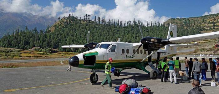 सिमकोट विमानस्थलमा यात्रुको चाप बढ्न थाल्यो