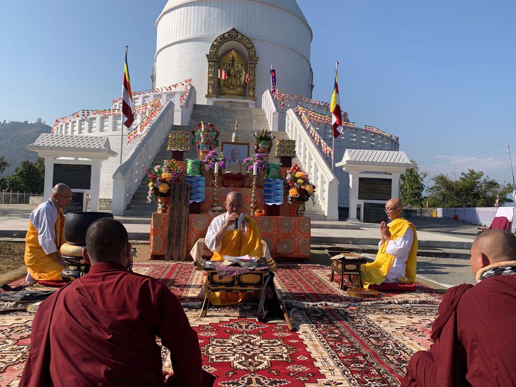 शान्ति स्तूप खुलाः आन्तरिक पर्यटक बढ्ने विश्वास