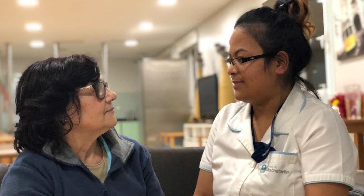पोर्चुगलको अस्पतालमा पहिलो नेपाली परिचारिका