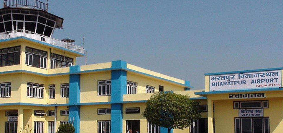 भरतपुरमा हवाई सङ्ख्या र यात्रु बढे