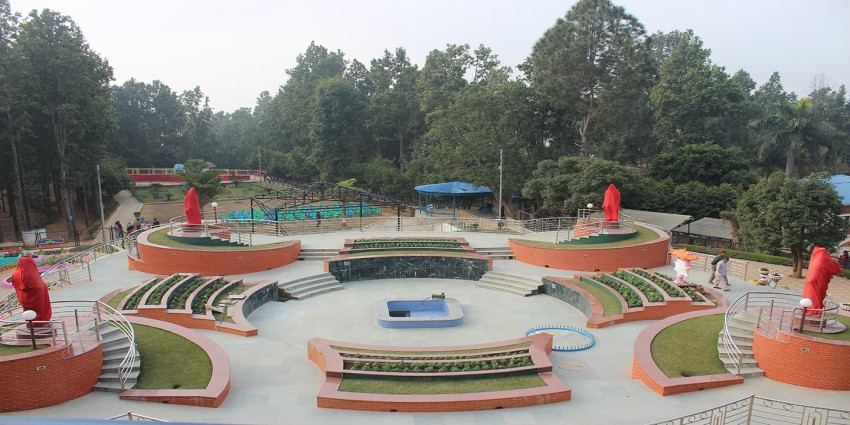 पर्यटकीय गन्तव्य बन्दै हेटौँडाको शहीद स्मारक उद्यान