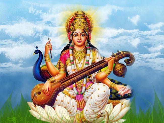 विद्याकी अधिष्ठात्री देवी सरस्वतीको पूजा अर्चना गरेर श्रीपञ्चमी मनाइँदै