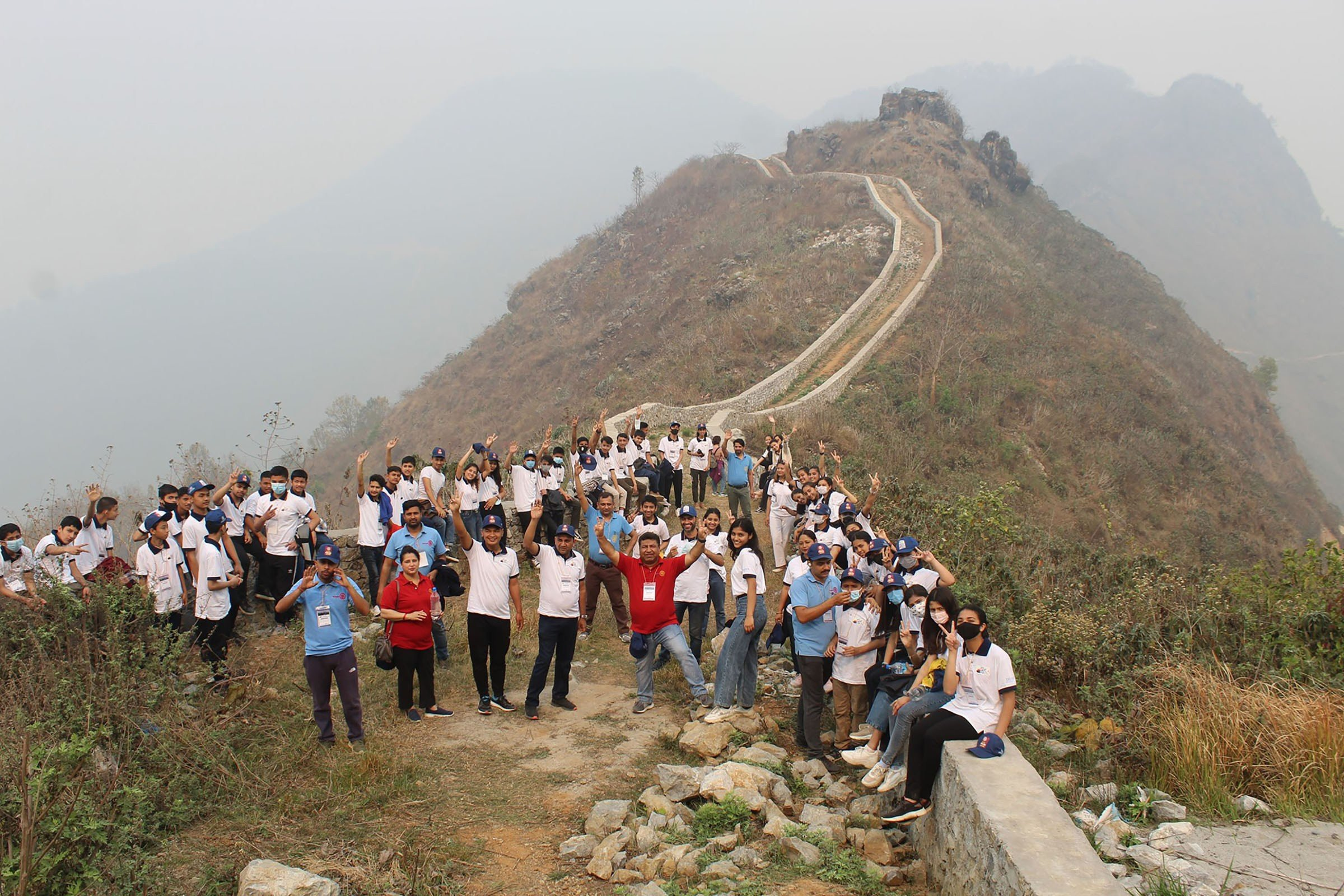 'मिनी ग्रेटवाल' मा आकर्षण, बन्दीपुरमा थप पर्यटक भित्रिँदै
