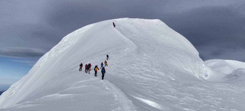 स्की माउन्टेनरिङका लागि मेरापिक उपयुक्त गन्तव्य
