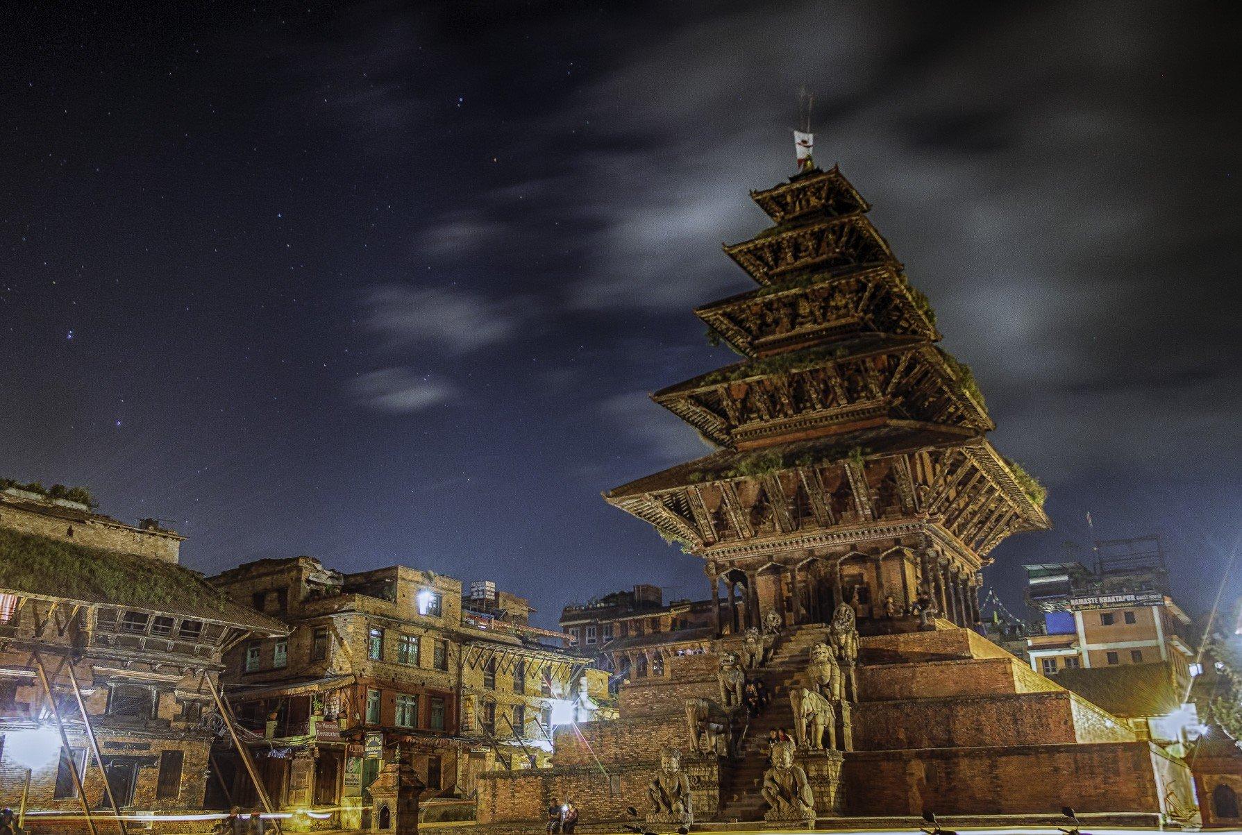 पाँचतले मन्दिरकाे आयु ३२० वर्ष पुग्याे