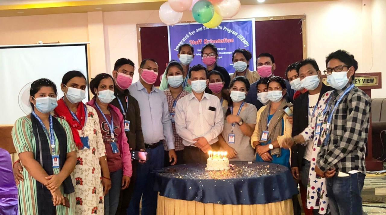 कर्णाली प्रदेशका  १० जिल्लामा आँखा तथा कान स्वास्थ्य उपचार कार्यक्रम शुरु
