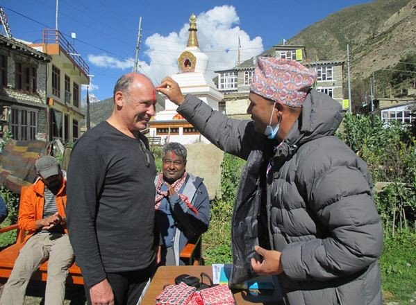 मनाङ आउने पर्यटकलाई स्वागत